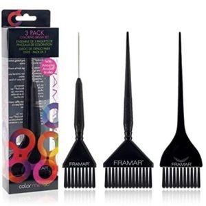 Framar Family Pack Hair Color Brush Set